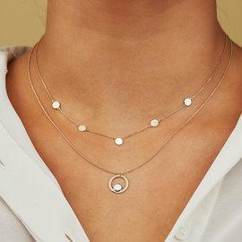 Isabel Bernard Belleville Mila collier en or 14 carats