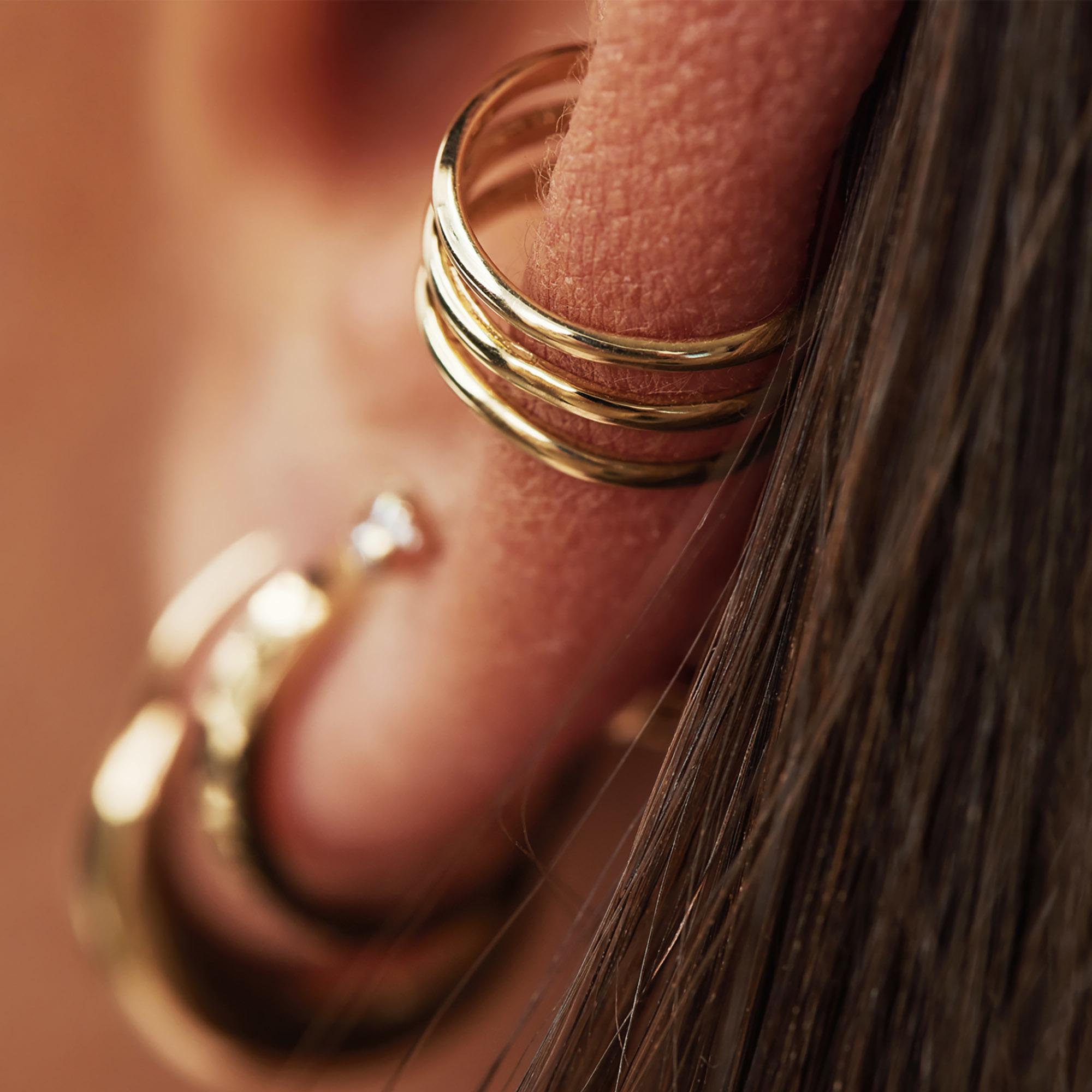 Isabel Bernard Le Marais Chéri 14 karat gold single ear cuff