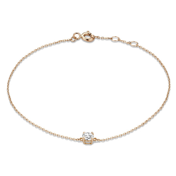 Isabel Bernard La Concorde Apolline 14 karat rose gold bracelet