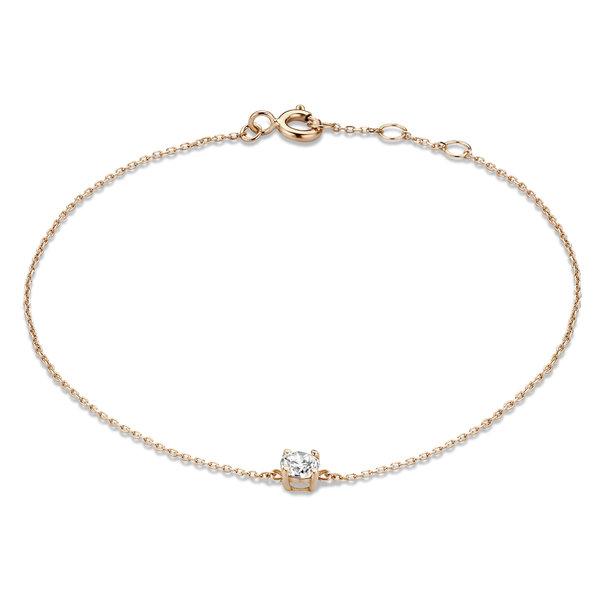 Isabel Bernard La Concorde Apolline bracciale in oro rosa 14 carati