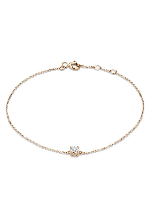 Isabel Bernard La Concorde Apolline 14 karaat rosé gouden armband
