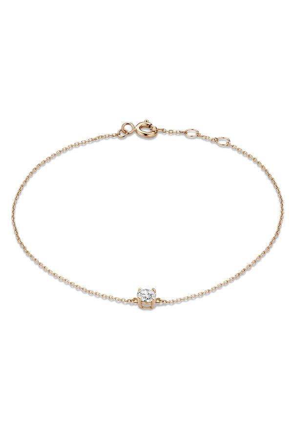 Isabel Bernard La Concorde Apolline 14 karat rosé guldarmband