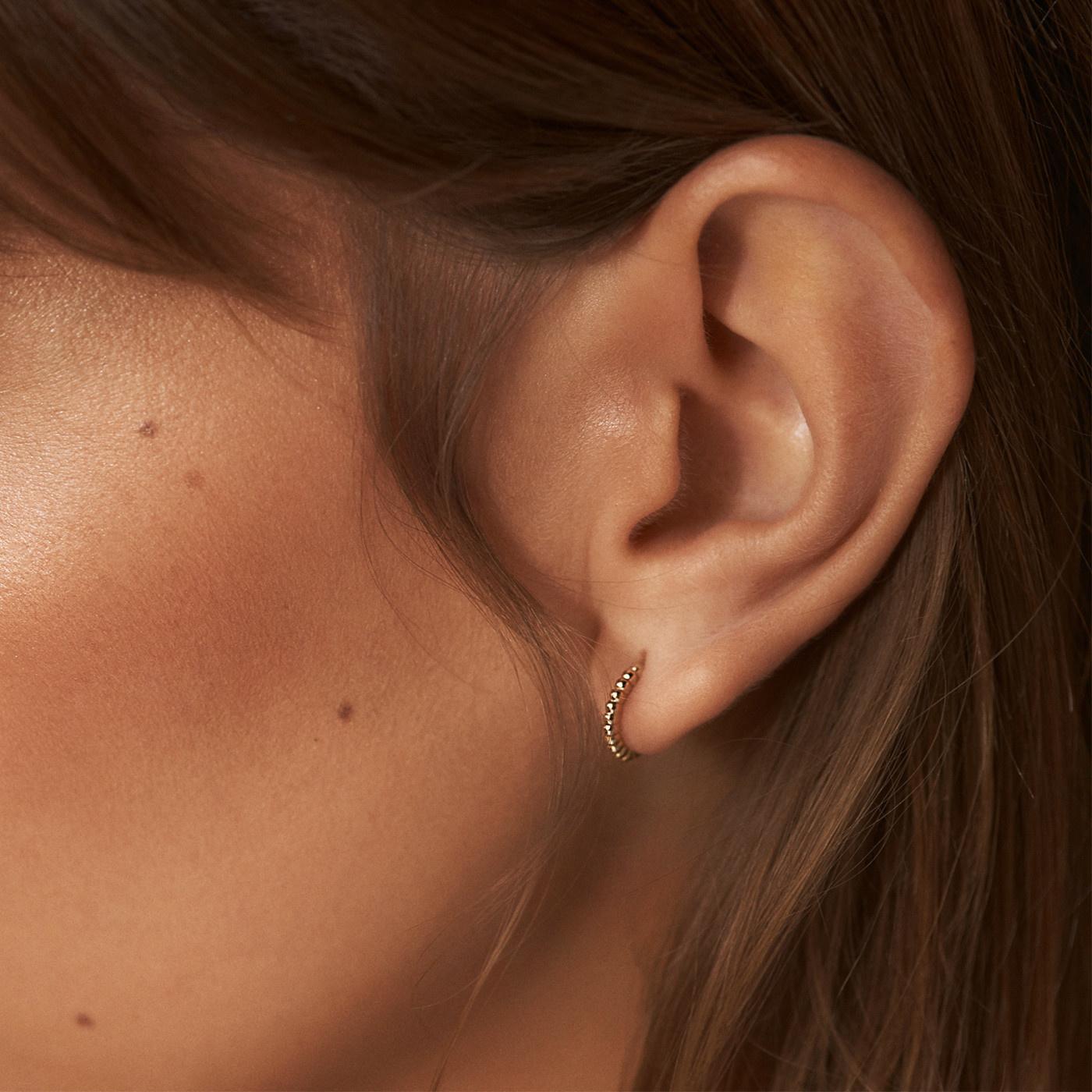 Isabel Bernard Le Marais Anne-Aurelia 14 carat gold earrings