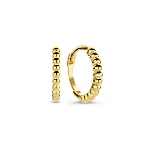 Isabel Bernard Le Marais Anne-Aurelia 14 karat gold hoop earrings