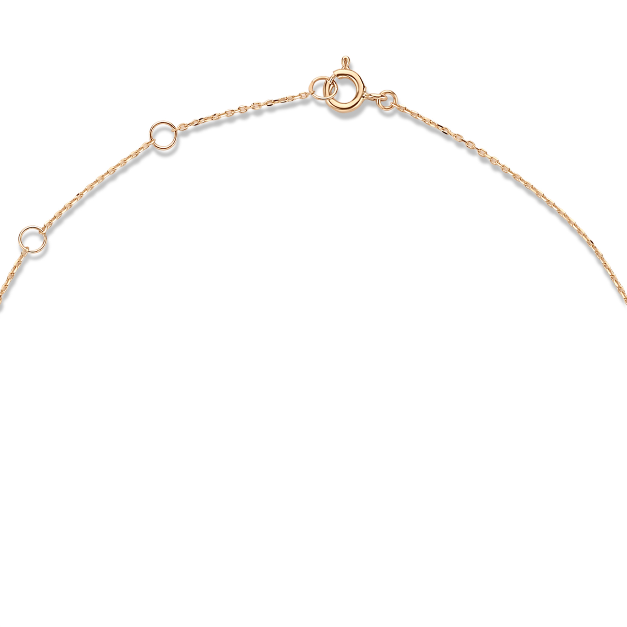Isabel Bernard La Concorde Énola 14 karat rose gold collier with circles