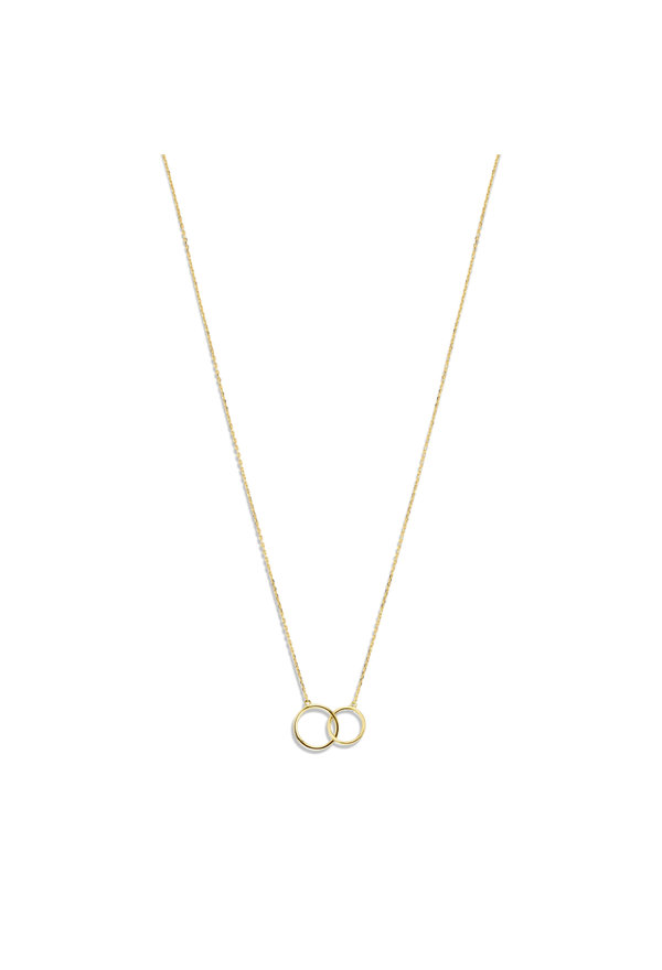 Isabel Bernard Le Marais Loulou 14 carat gold necklace