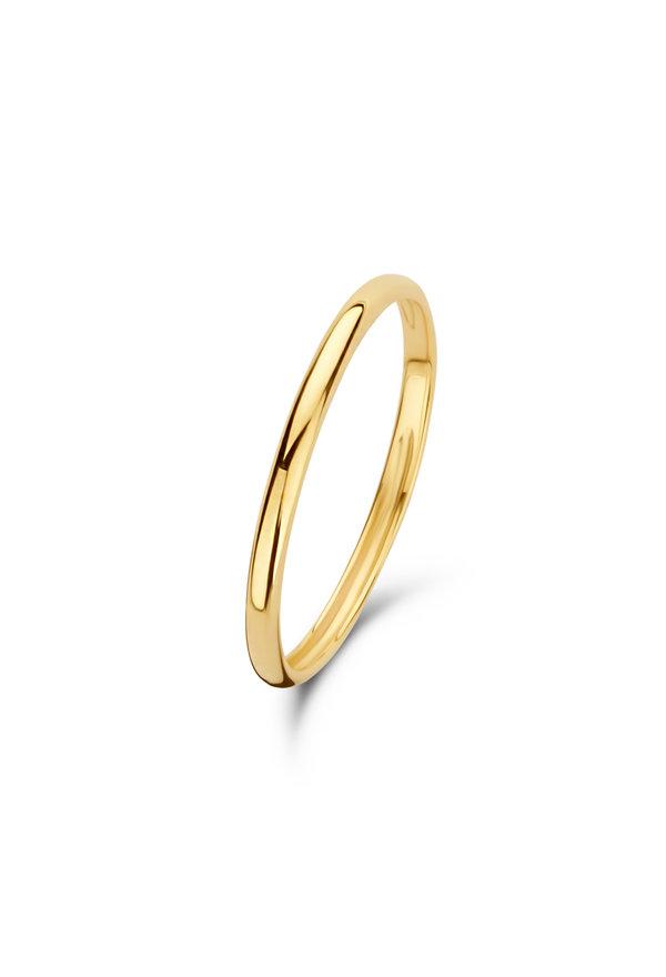 Isabel Bernard Asterope Solid 14 karat gold stacking ring