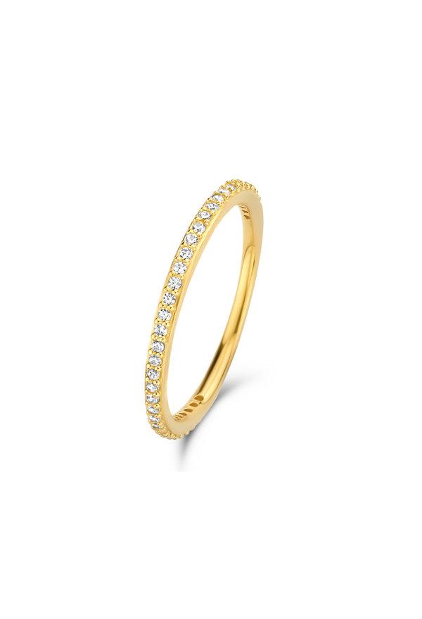 Isabel Bernard Asterope Stones 14 karat guld stapling ring