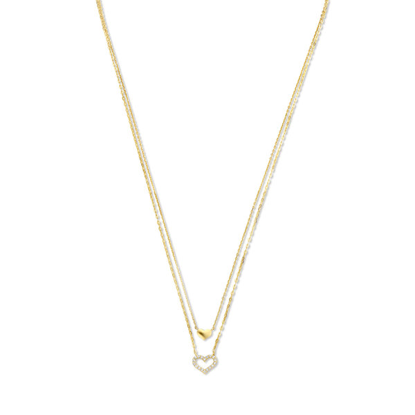 Isabel Bernard Belleville Amore 14 karat gold necklace