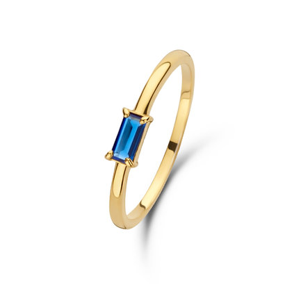 Isabel Bernard Anello in oro 14 carati Baguette Odie