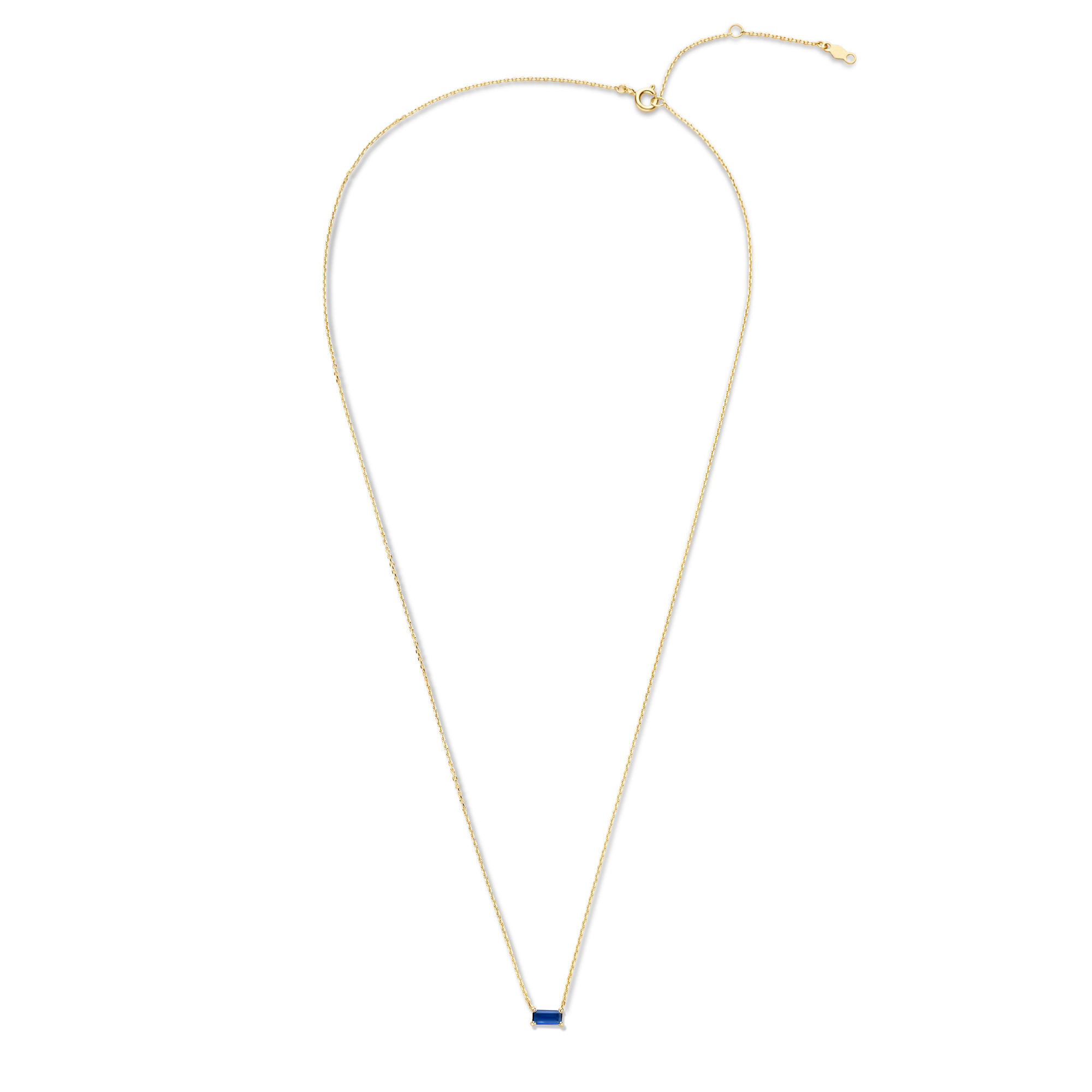 Isabel Bernard Baguette Nanon 14 karat gold necklace