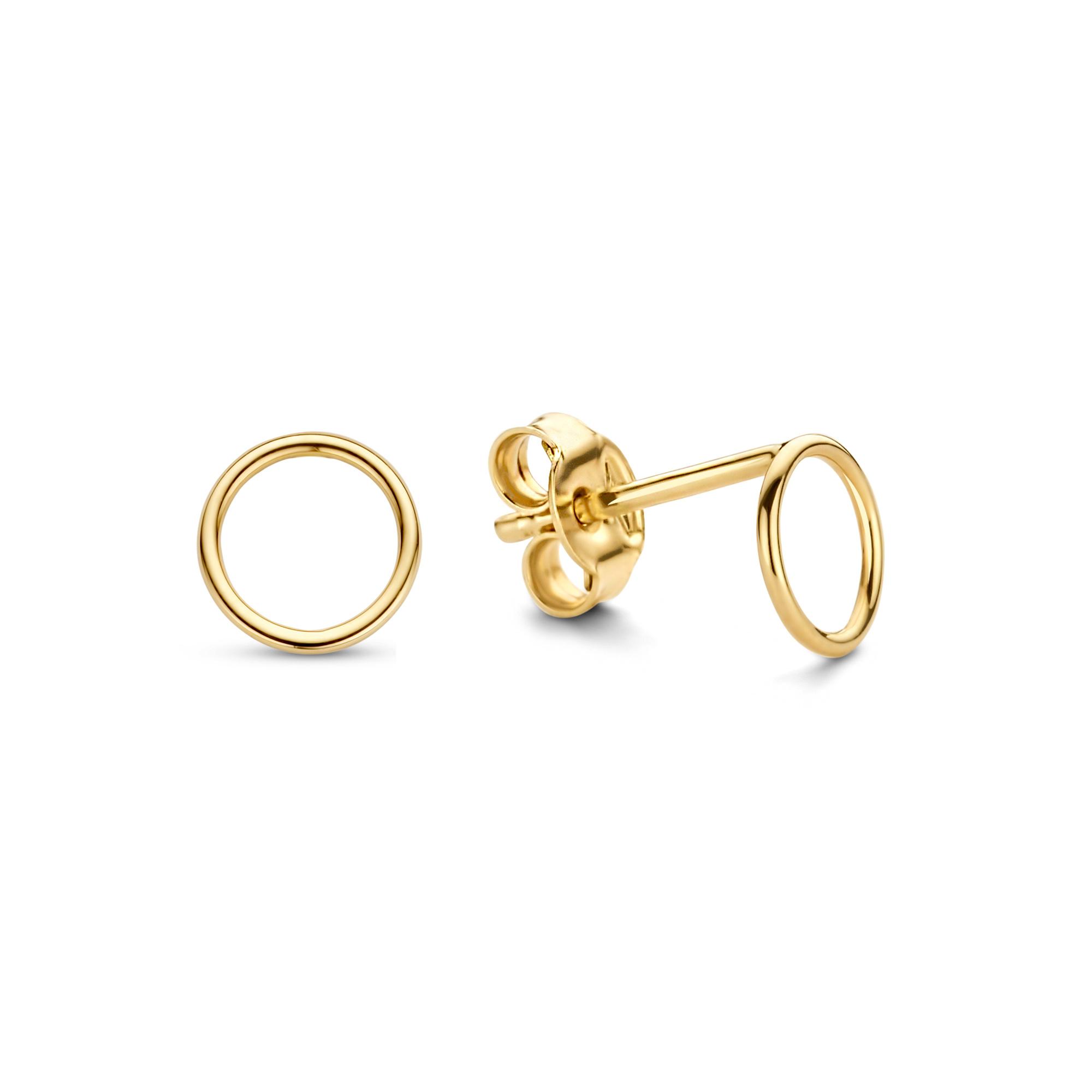 Isabel Bernard Belleville Anna 14 karaat gouden oorknoppen