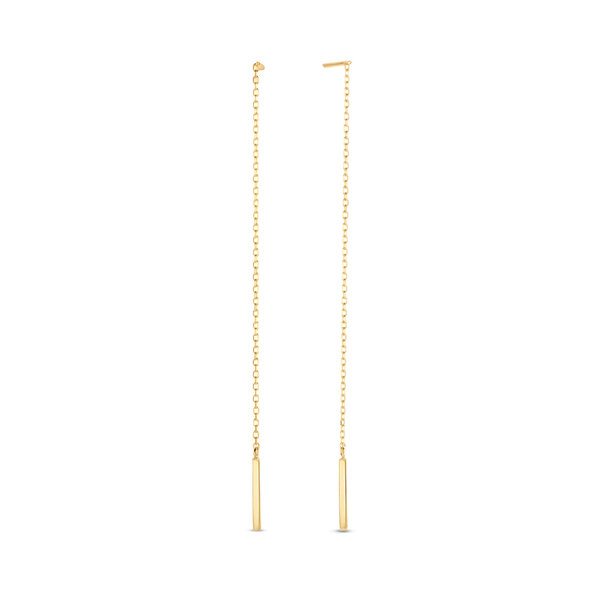 Isabel Bernard Le Marais Maëlys orecchini pendenti in oro 14 carati