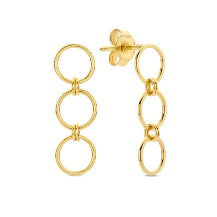Isabel Bernard Belleville Anna orecchini pendenti in oro 14 carati