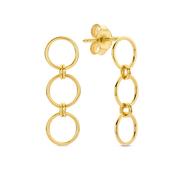 Isabel Bernard Belleville Anna 14 karat gold drop earrings