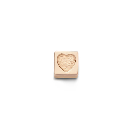 Isabel Bernard La Concorde Felie 14 karat rose gold cube charm