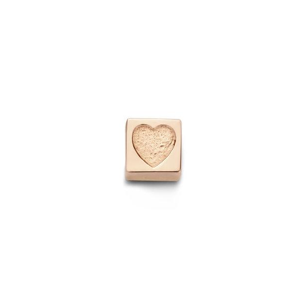 Isabel Bernard La Concorde Felie breloque cube en or rose 14 carats