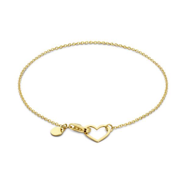 Isabel Bernard Belleville Amore 14 karat gold bracelet