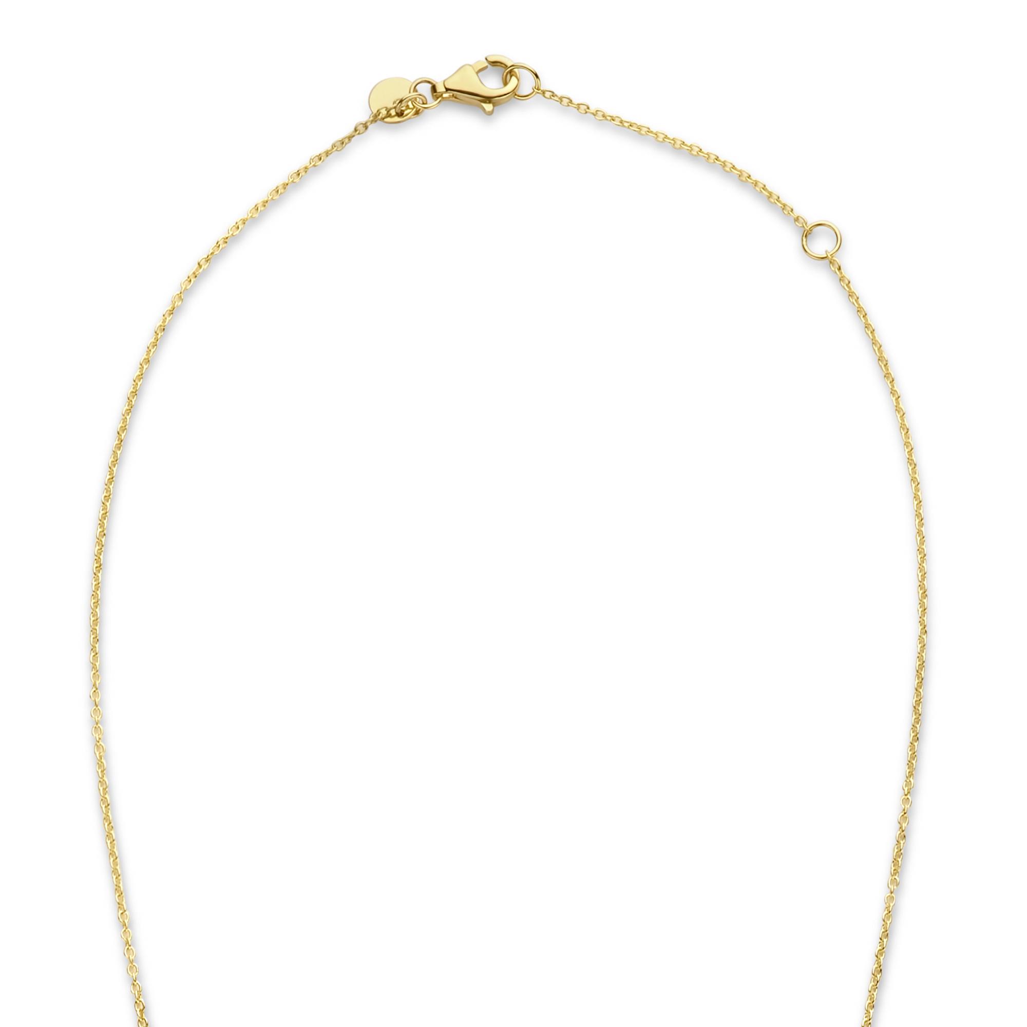 Isabel Bernard Belleville Luna collier en or 14 carats avec perle d'eau douce