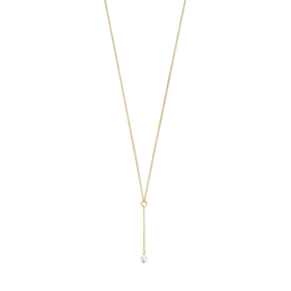 Isabel Bernard Belleville Luna 14 karaat gouden collier