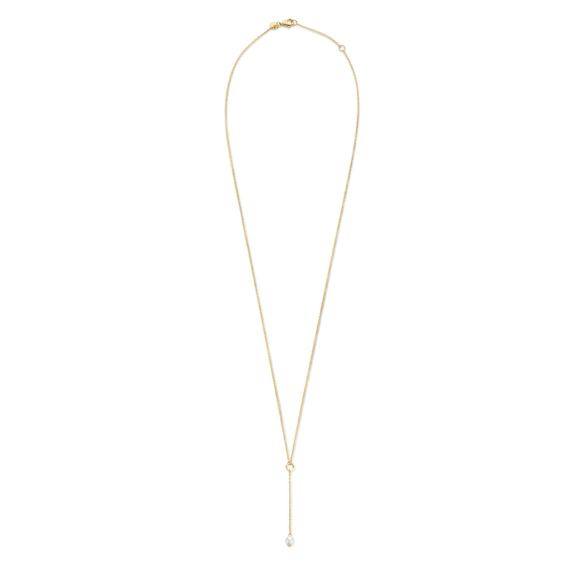 Isabel Bernard Belleville Luna 585er Goldkette mit Süßwasserperle