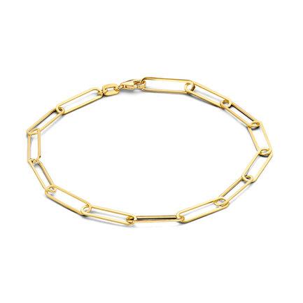 Isabel Bernard Aidee Odile bracciale a maglie in oro 14 carati