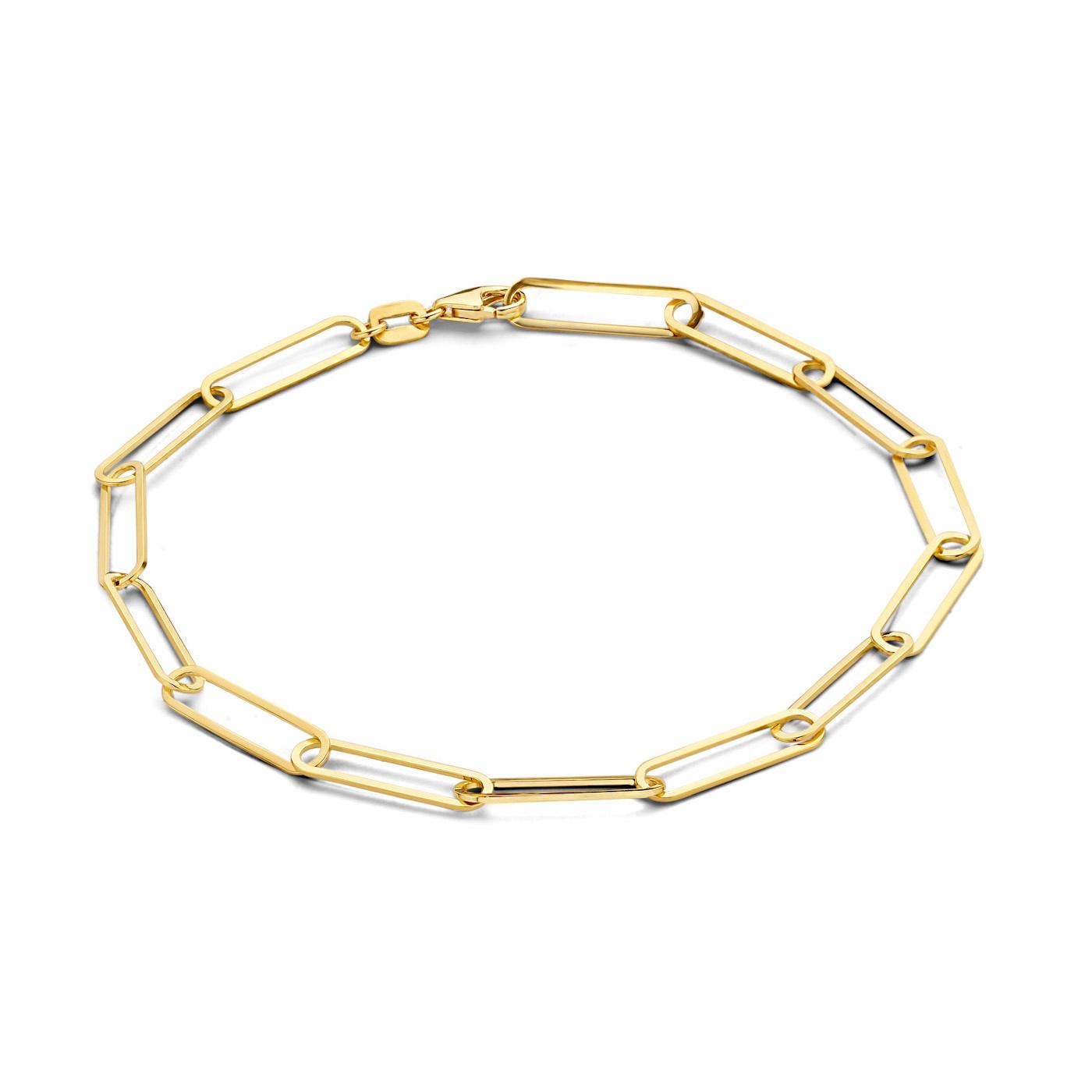 Isabel Bernard Aidee Odile 585er Gold Gliederarmband
