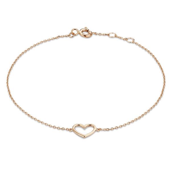 Isabel Bernard La Concorde Alix bracciale in oro rosa 14 carati