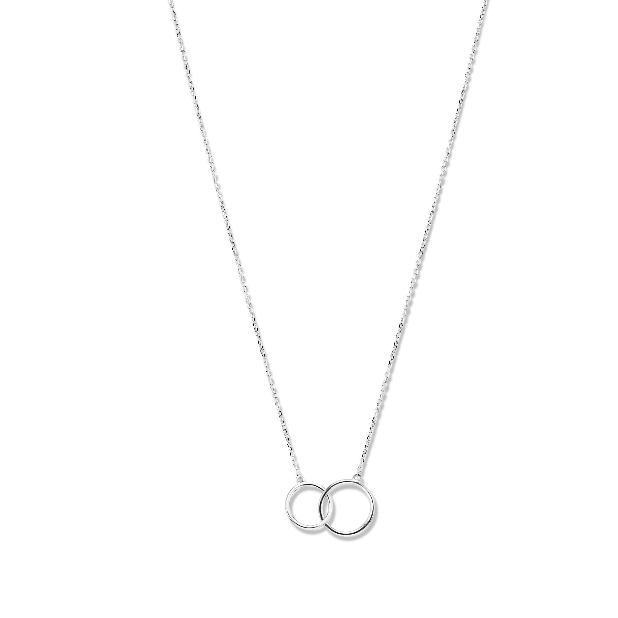 Isabel Bernard Saint Germain Loulou 585er Weißgold Kette mit Ringen