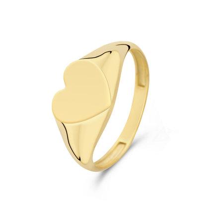 Isabel Bernard Le Marais Lauren anello con sigillo in oro 14 carati