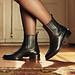 Isabel Bernard Vendôme Chey schwarze Chelsea Boots aus Kalbsleder