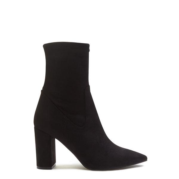 Isabel Bernard Vendôme Fem black suede stretch heels