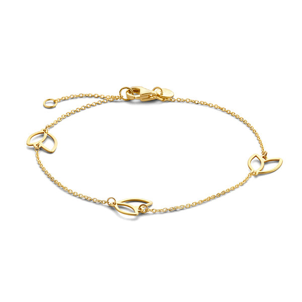 Isabel Bernard Belleville Noémi bracciale in oro 14 carati