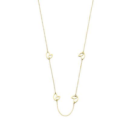 Isabel Bernard Belleville Noémi 14 karaat gouden collier