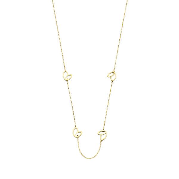 Isabel Bernard Belleville Noémi 14 karat gold necklace