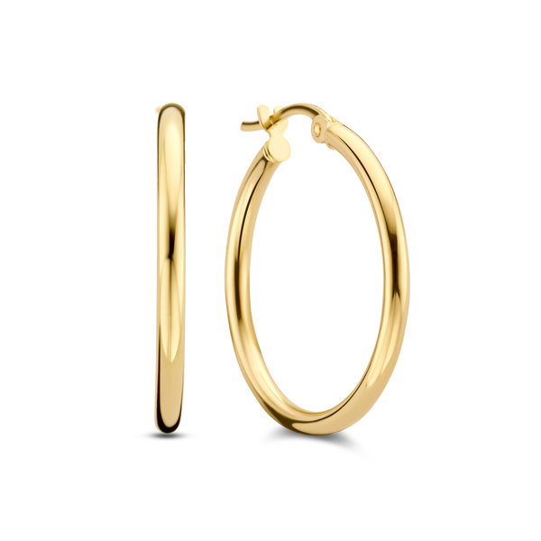 Isabel Bernard Rivoli Estelle créoles en or 14 carats