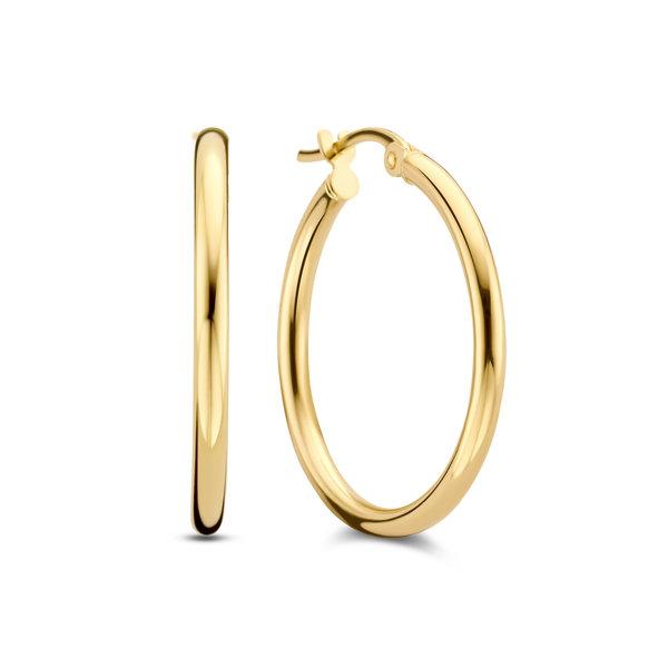 Isabel Bernard Rivoli Estelle creoli in oro 14 carati