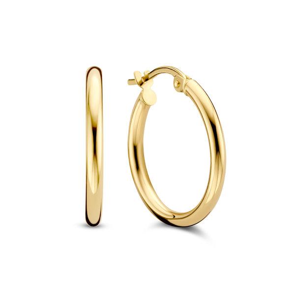 Isabel Bernard Rivoli Estelle 14 karat gold hoop earrings