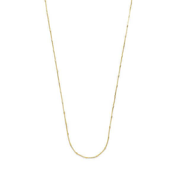 Isabel Bernard Rivoli Yvette 14 karaat gouden collier