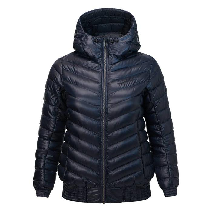 WOMEN'S ICE DUCK DOWN HOODED JACKET