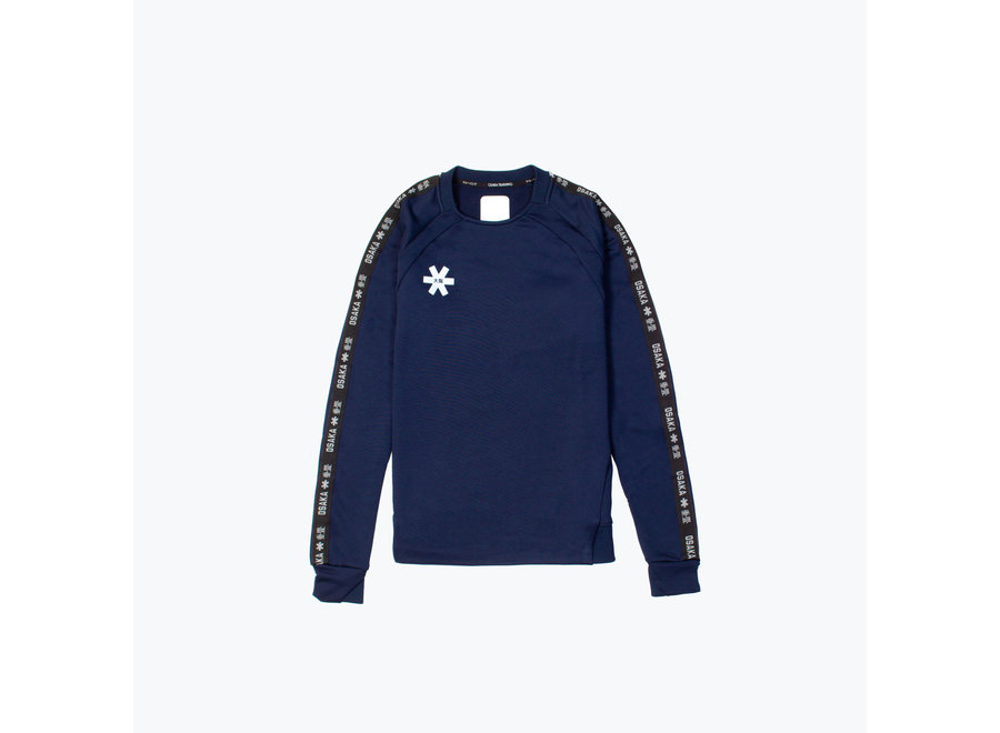 WOMEN TRAINING SWEATER NAVY