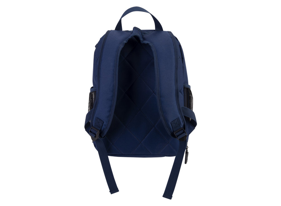 Kids Backpack Navy/Orange