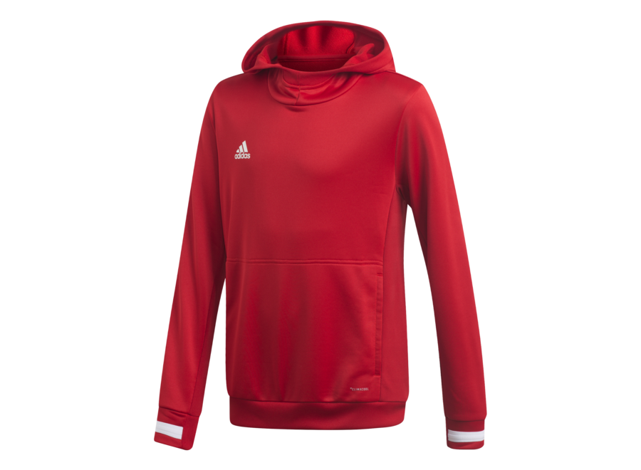 T19 HOODY YOUTH RED
