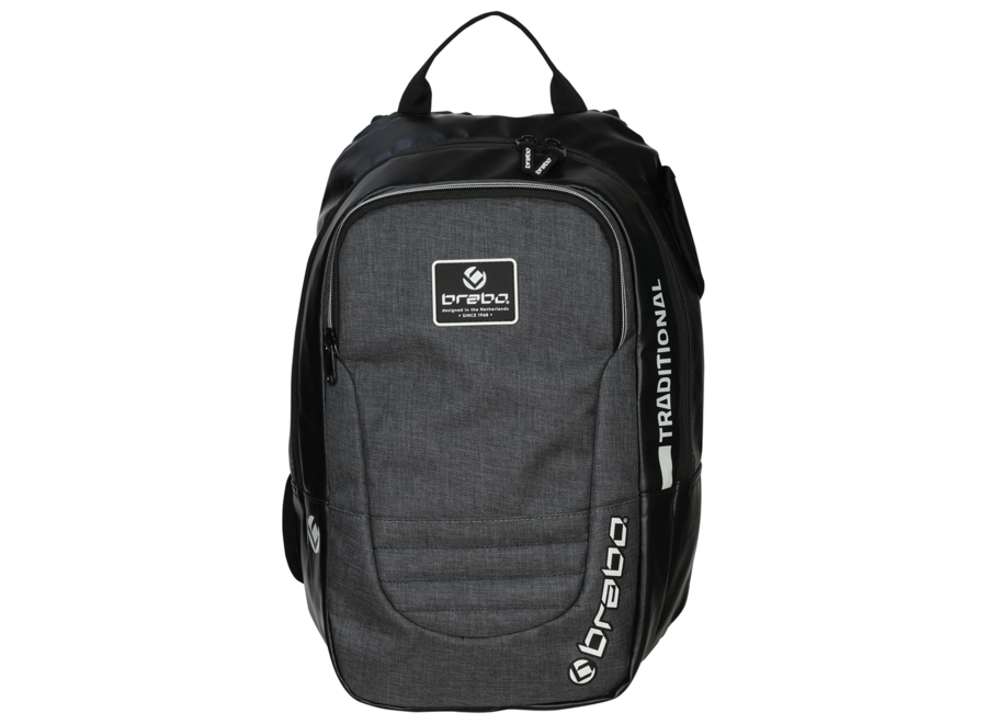 BACKPACK TRADITIONAL JR GRY/WH