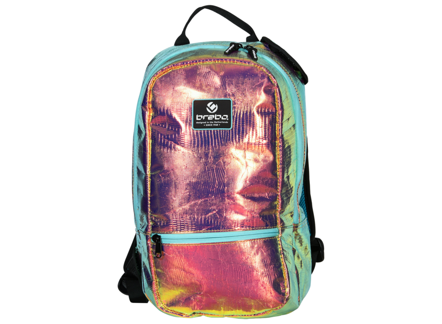 BACKPACK PEARLCENT FLUOR PEACH