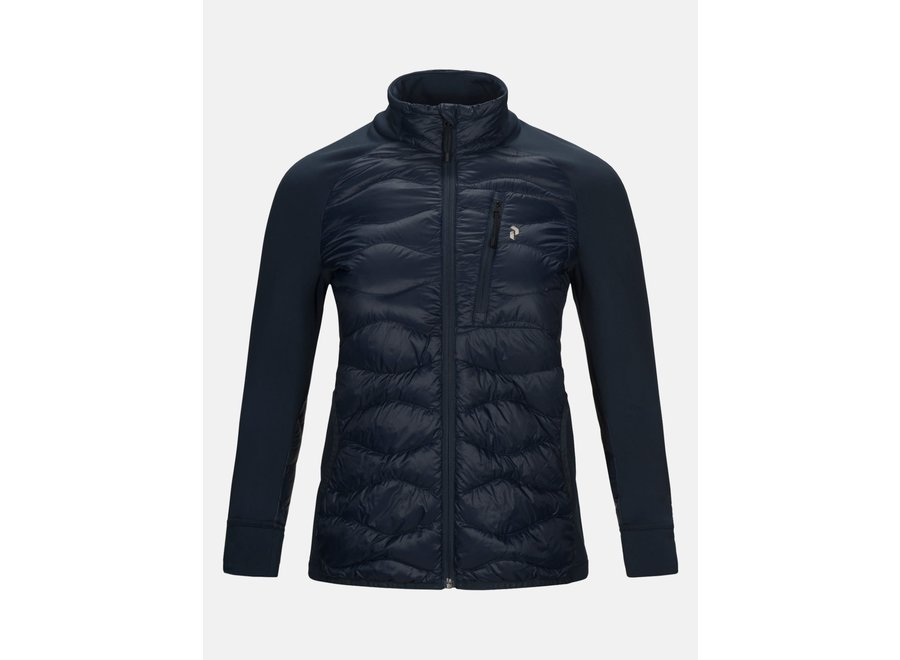 W HELIUM HYBRID JACKET blue shadow