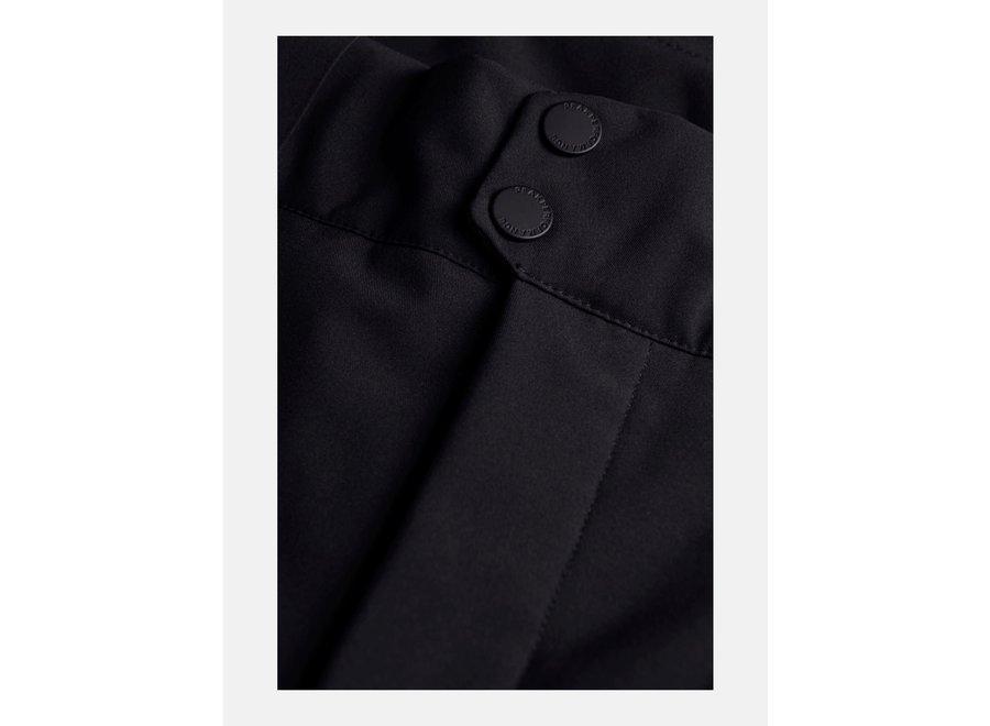 MAROON RACE PANTS black