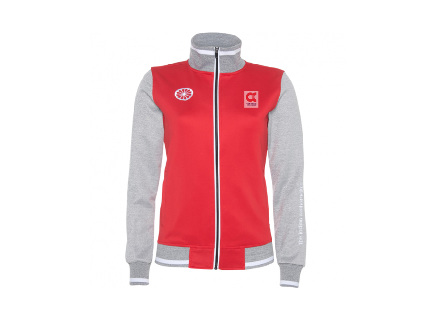 AthenA red/grey jacket women
