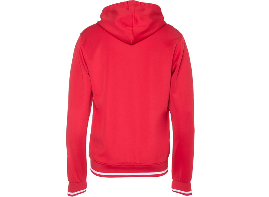 AthenA red hoodie women