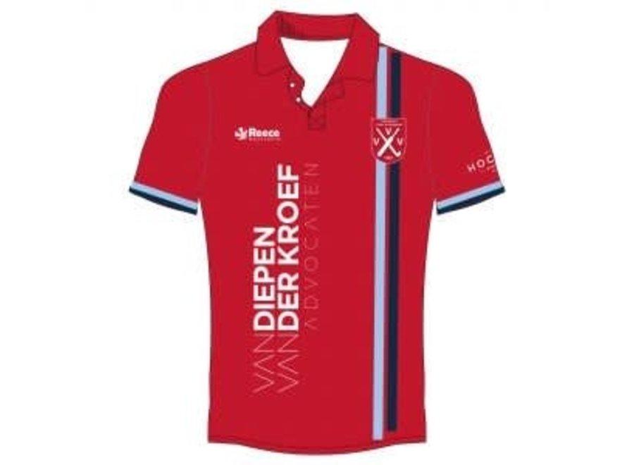 VVV Junior Keepersshirt Rood 140-152